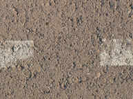 Asphalt with two white lines Texture